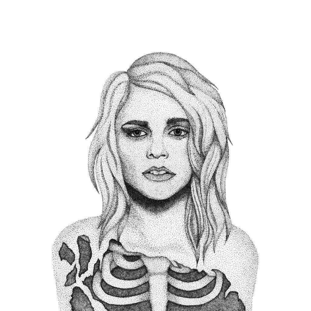'Skin & Bones' Illustration, 2017